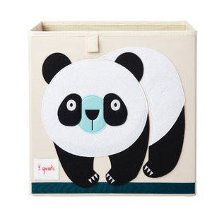 3 Sprouts Storage Box, Panda
