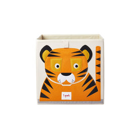 3 Sprouts Storage Box, Tiger