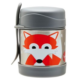 3 Sprouts Fox Stainless Steel Food Jar