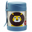 3 Sprouts Lion Stainless Steel Food Jar
