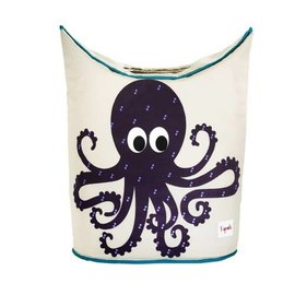 3 Sprouts Laundry Hamper, Octopus