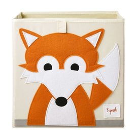 3 Sprouts Storage Box, Fox