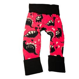 Jberg Black/Pink Dino Grow Pants