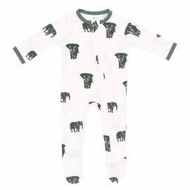 Kyte Baby Elephant Zippered Footie