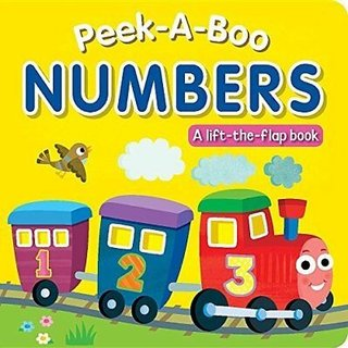 Peekaboo Numbers, Board Book