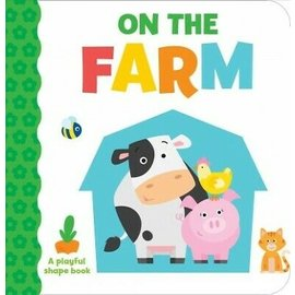 On The Farm, Playful Shapes Board Book