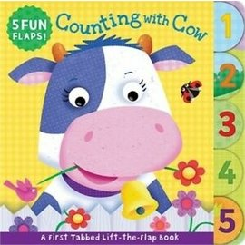 Counting With Cow, Board Book