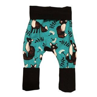 Black/Foxes Grow Pants