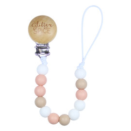 Glitter & Spice Penelope G & S Pacifier Clip