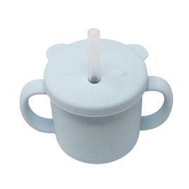 Glitter & Spice Ice Blue Silicone Cup