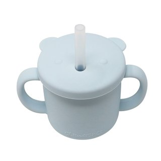 Ice Blue Silicone Cup