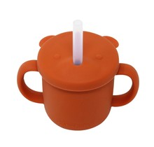 Bohemian Rust Silicone Cup