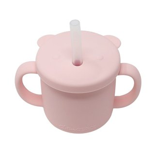 Delicate Pink Silicone Cup
