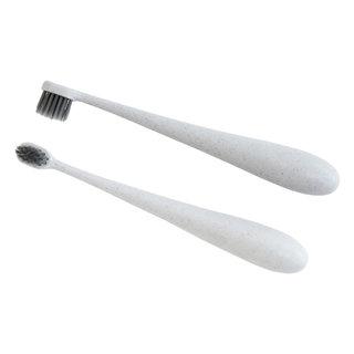 White Kids Wheat Fibre Toothbrush