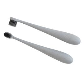 Glitter & Spice Grey Kids Wheat Fibre Toothbrush