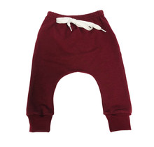 The Maroon Terry Joggers