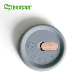 Haakaa Haakaa Grey Silicone Lid (fits all pumps)