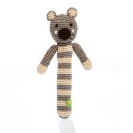 Pebble Koala Stick Rattle, Pebble