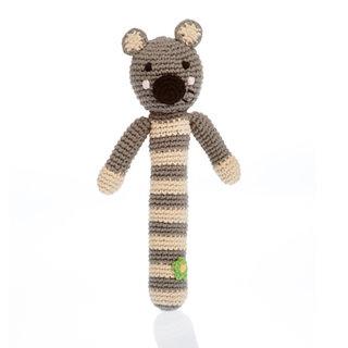 Koala Stick Rattle, Pebble