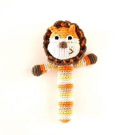 Pebble Lion Stick Rattle, Pebble