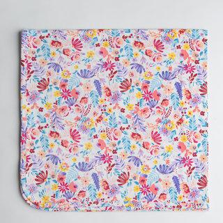 Field Flowers Stretch Knit Blanket