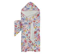 Light Field Flowers Hooded Towel Set