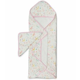 Loulou Lollipop Unicorn Dream Hooded Towel Set