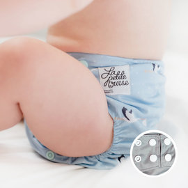 La Petite Ourse Stork One-Size Snap Pocket Diaper