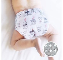 Comfort One-Size Snap Pocket Diaper