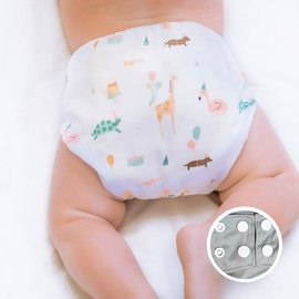 La Petite Ourse Birthday Party One-Size Snap Pocket Diaper