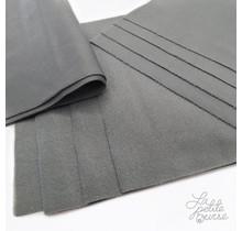 Grey Washable Microfleece Liners, 10