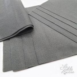 La Petite Ourse Grey Washable Microfleece Liners, 10