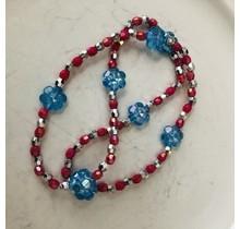 Blue Shine Necklace