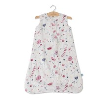 Fairy Garden Cotton Muslin Sleep Bag, 1.1 TOG