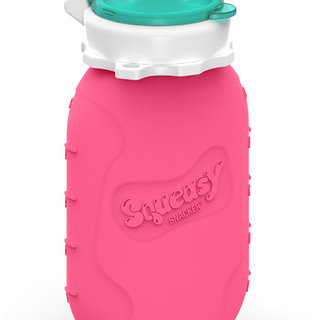 Pink 6oz Squeasy Snacker