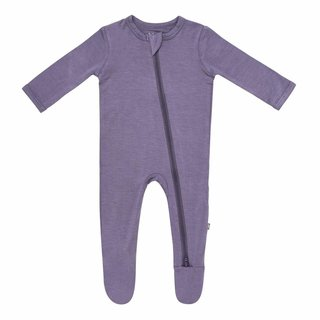 Orchid Zippered Footie