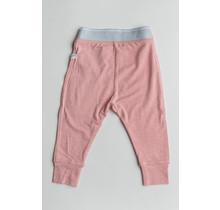 Heather Pink Baby Pants