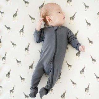 Giraffe Bamboo Crib Sheet