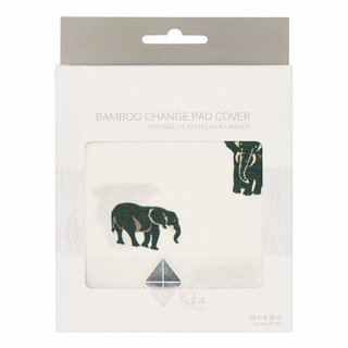 Elephant Bamboo Crib Sheet