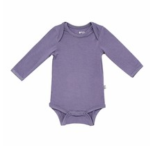 Orchid Long Sleeve Bamboo Bodysuit