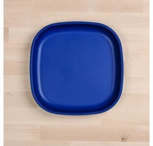 """Navy Large 9"""" Re-Play Flat Plate"""
