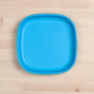 """Sky Blue Large 9"""" Re-Play Flat Plate"""