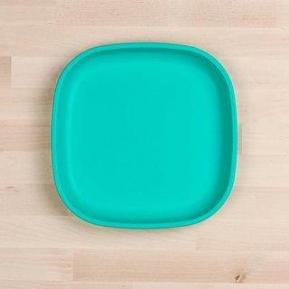 """Aqua Large 9"""" Re-Play Flat Plate"""