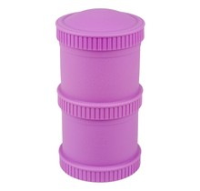 Purple Snack Stack (2 pod base + 1 lid), Re-Play