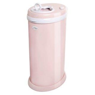 Blush Pink Ubbi Steel Diaper Pail