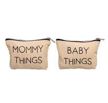 Mommy & Baby Travel Pouch Set