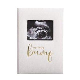 Linen Grey Pregnancy Journal