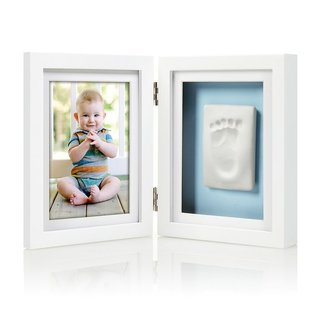 White Babyprints Desk Frame