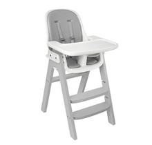 Sprout Highchair, Grey with Grey