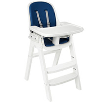Sprout Highchair, White with Navy